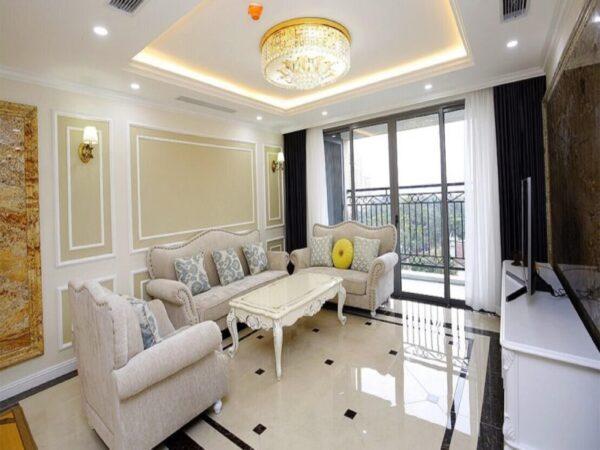 Gorgeous Royal stylish D'. Le Roi Soleil apartment for rent in 59 Xuan Dieu, Quang An (1)