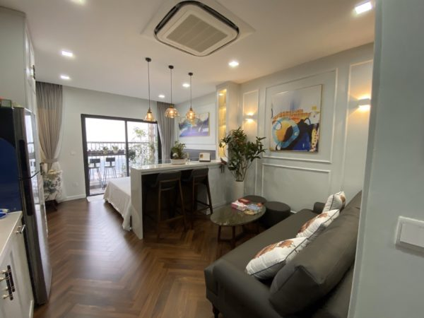 Studio apartments for rent in D'.Le Roi Soleil Phu Thuong, Tay Ho (9)
