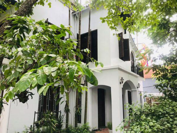 Villa for rent in Dang Thai Mai Street, Tay Ho District, Hanoi (2)
