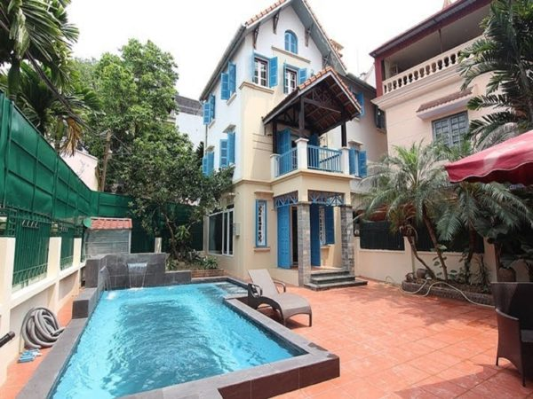 Villa for rent in To Ngoc Van Street, Tay Ho District, Hanoi (8)