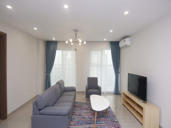 Great golf view 3BRs apartment for rent in L3, The Link Ciputra Hanoi International City (4)