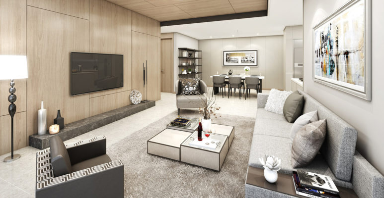 Apartment design of Starlake Tay Ho Tay Apartment 1