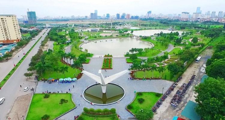 External amenities in Diplomatic Corps- Ngoai Giao Doan Hanoi