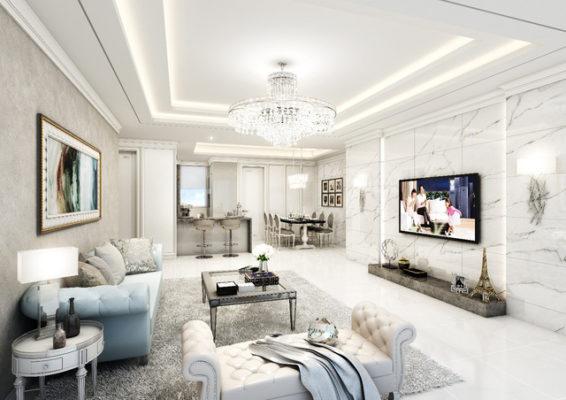 Apartment design of Starlake Tay Ho Tay Apartment
