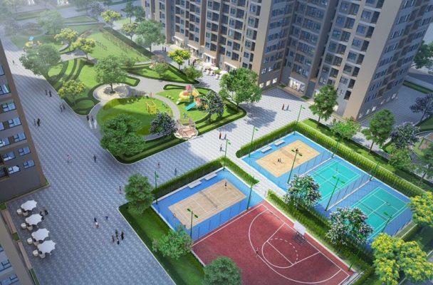 Internal amenities in Diplomatic Corps- Ngoai Giao Doan Hanoi 1