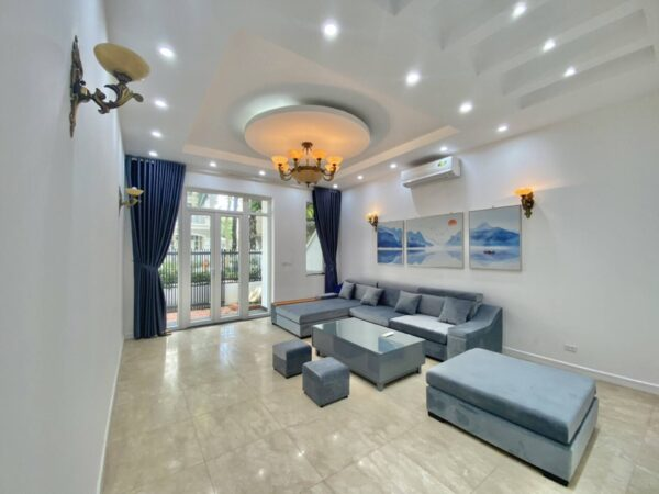 Renovated villa for rent in Ciputra with 100% new furniture (1)
