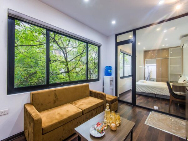 Affordable 1BR serviced apartment for rent in Ba Dinh Distr (1)