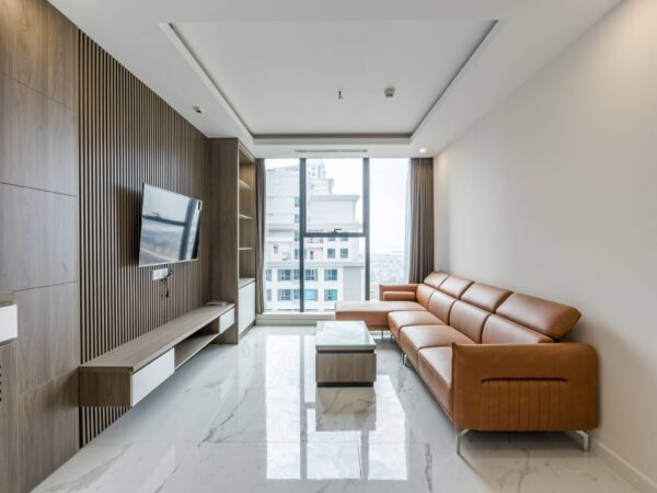 Big modern 3BRs Sunshine City apartment for rent overlooking Red River view (13)