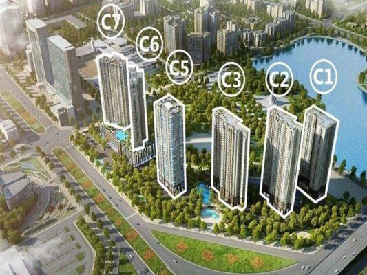 Vinhomes D'. Capitale - Apartment Type, Area & Rental Price
