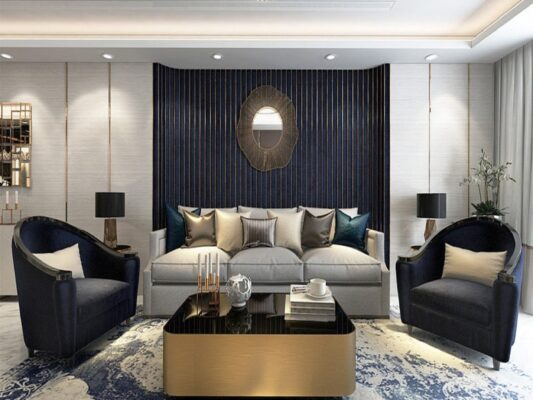 Gold-plated apartment, Royal space 2