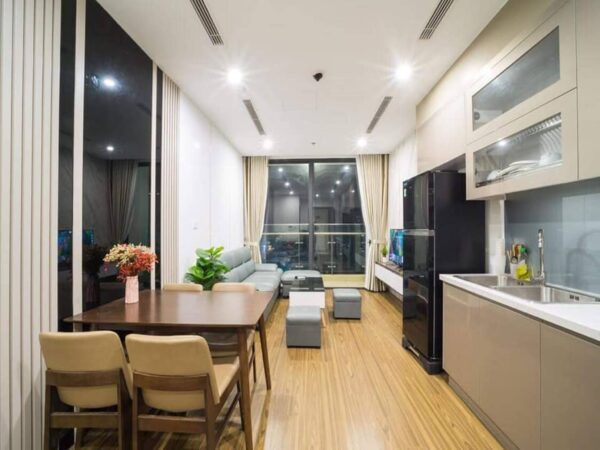 Attractive 2BRs apartment for rent at Vinhomes West Point Pham Hung (1)