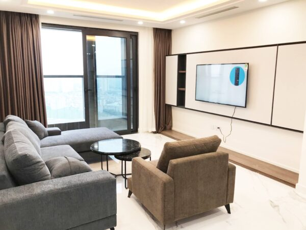 Free 2-year management fee Sunshine Center My Dinh apartment for rent (1)