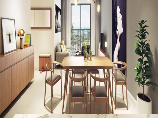 The design of the apartment Kosmo Tay Ho (1)