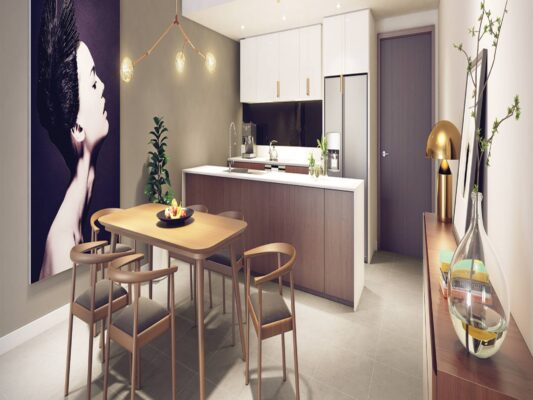 The design of the apartment Kosmo Tay Ho (2)