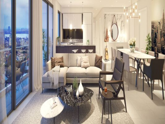 The design of the apartment Kosmo Tay Ho (6)