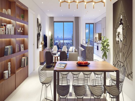 The design of the apartment Kosmo Tay Ho (7)