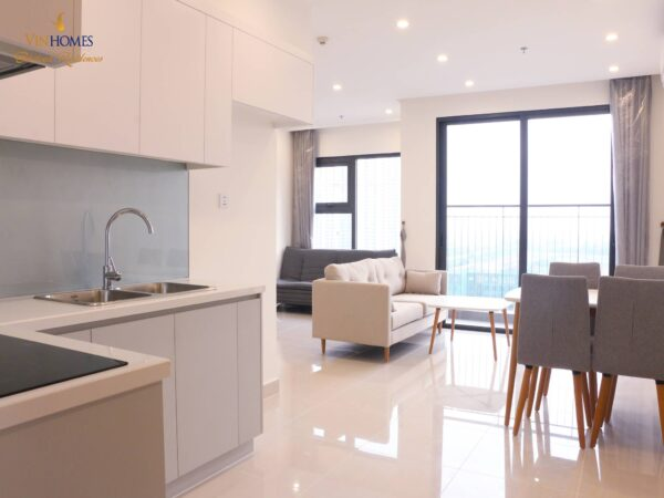 Fully furnished 2-bedroom apartment at Vinhomes Smart City for rent (1)