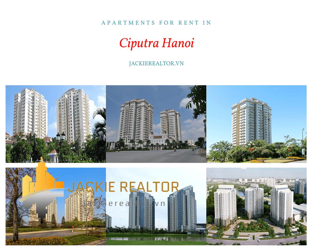 Apartments for rent in Ciputra Hanoi