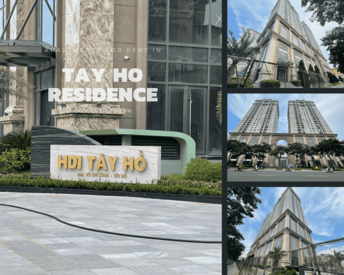 Apartments for rent in Tay Ho Residence