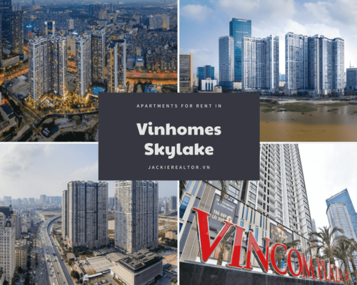 Apartments for rent in Vinhomes Skylake