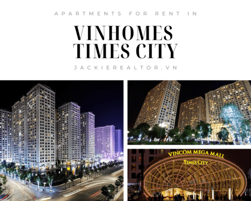 Apartments for rent in Vinhomes Times City