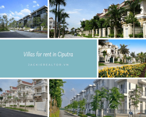 Villas for rent in Ciputra - Jackie Realtor
