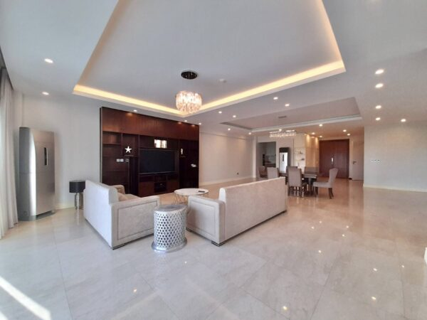 Modern 4-bedroom apartment for rent in The Link Ciputra (1)